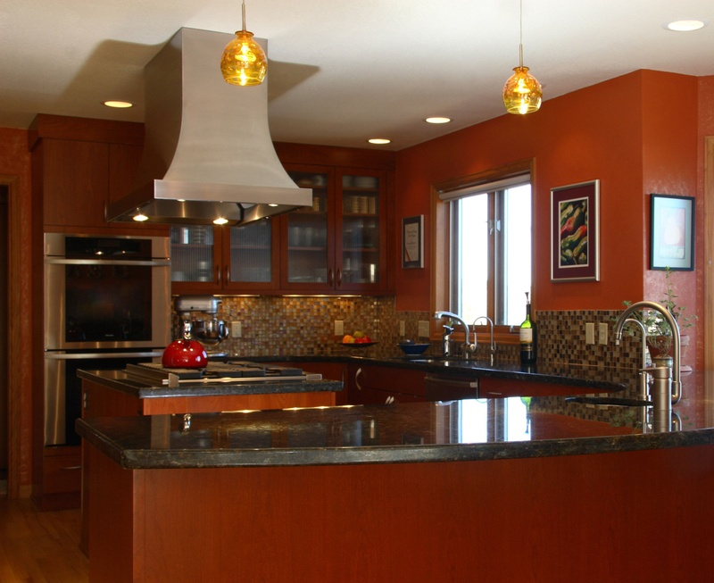 Chef's Kitchen Schematic Design & Remodel