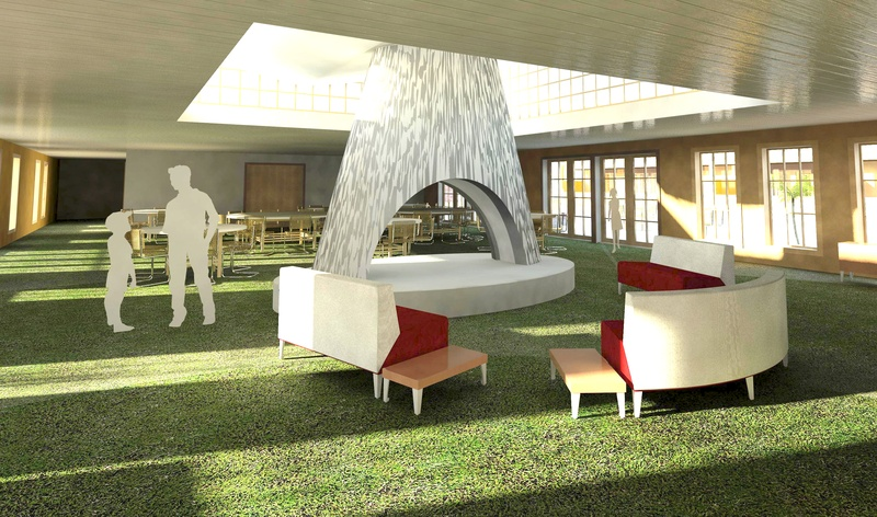 Eco-lodge reception