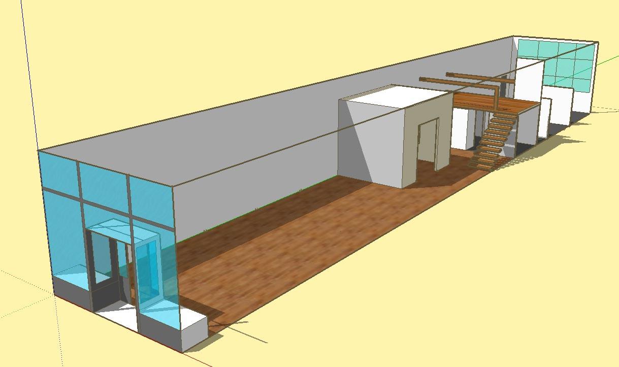 Gallery concept model